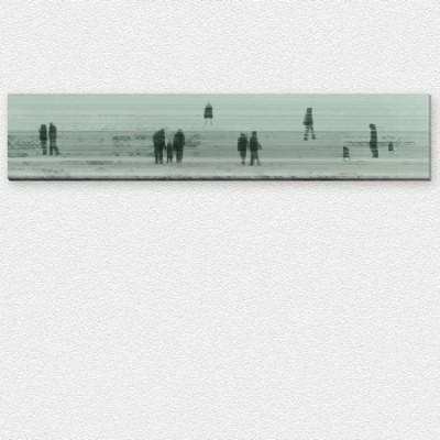 Personen-Freigestellt-Silhouetten-Wand