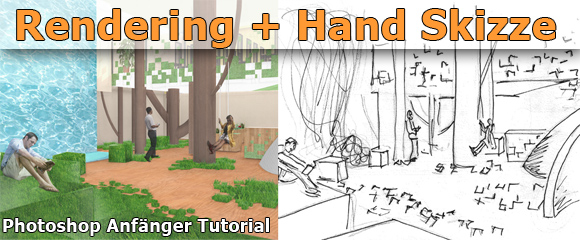 Tutorial Architektur Illustration Handskizze