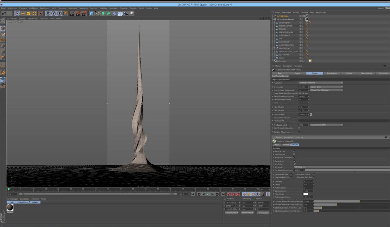 Tutorial architektur visualisierung schnelles 3d modell for Cinema 4d architektur