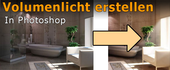 Photoshop Architektur Tutorial Licht erstellen
