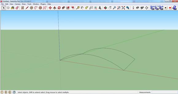 Sketchup Plugin Freiflächen