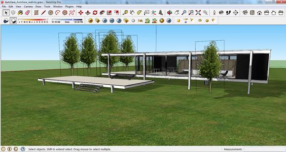 Sketchup Vray Architektur