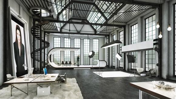 3D-Modell-Studio-Set-Architektur-Rendering_580