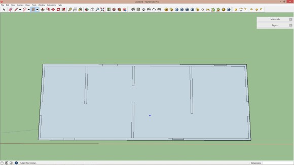 01. Import AutoCAD datei in Sketchup_580