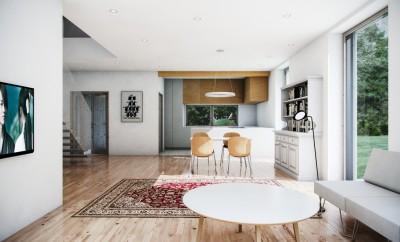 archicad tutorial belichtung innenraumszene mit cinerender. Black Bedroom Furniture Sets. Home Design Ideas