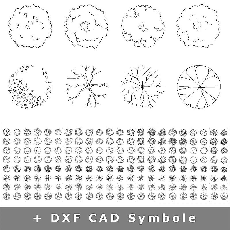 9-cad-dxf-dwg-symbole-baeume-draufsicht-grundriss-download