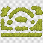 150-Hecke-Architekturvisualisierung-modular-baukasten