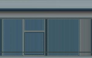 Kostenlose Fassade Gebäude Textur Auswahl der Fensterflächen