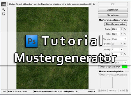 Photoshop_Gras-Textur_Mustergenerator_Tutorial