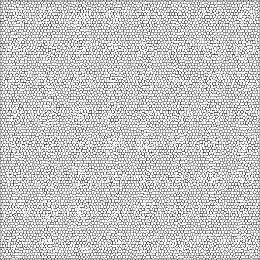Buntglas-Mosaik Filter