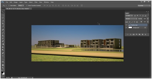 02_Import-Raw_Architektur_Rendering_Photoshop