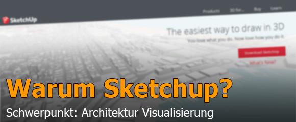 Test Sketchup für Architekten