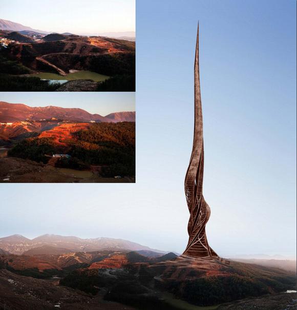 Hintergrundgrafiken fuer Architektur Rendering