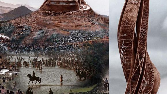 Bildausschnitte Details Architektur Visualisierung Photoshop