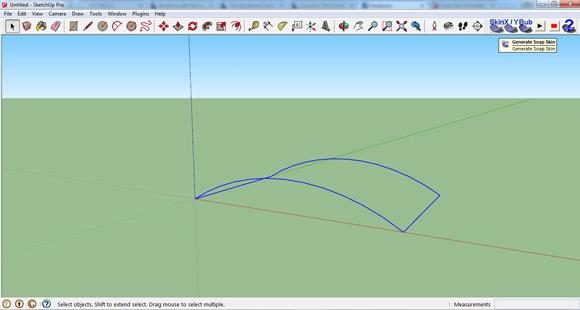 Sketchup Plugin Haengekonstruktion