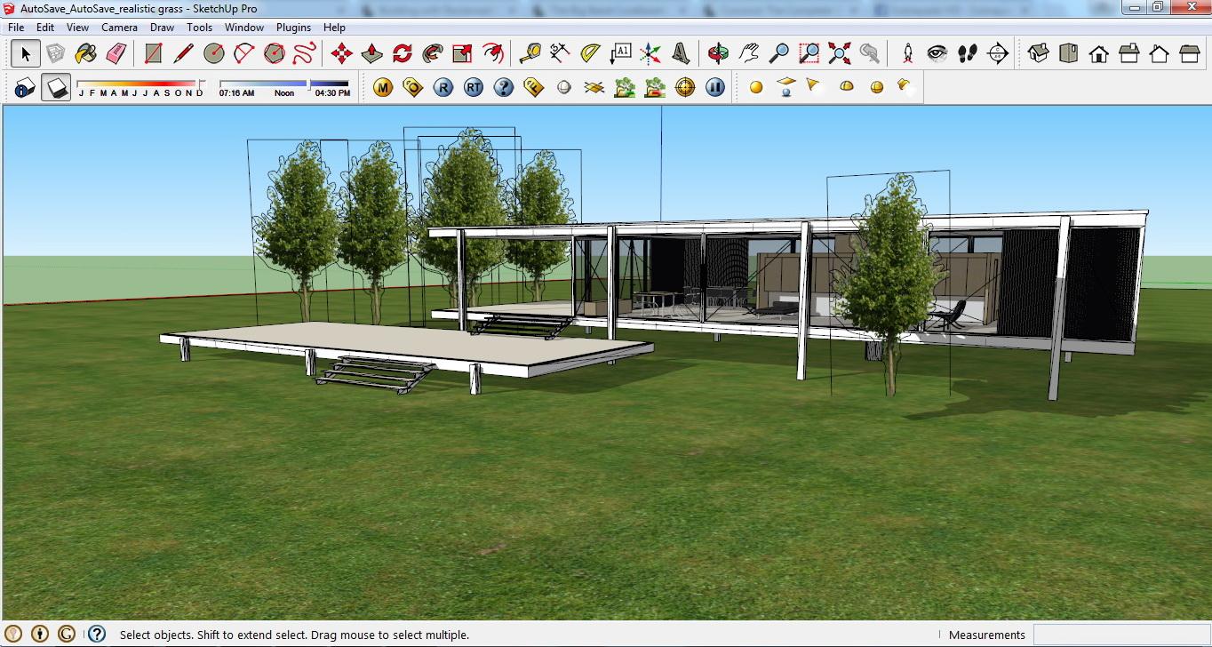 architektur plugins f r sketchup teil 2. Black Bedroom Furniture Sets. Home Design Ideas