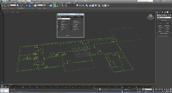 3d grundriss in 3ds max rendern