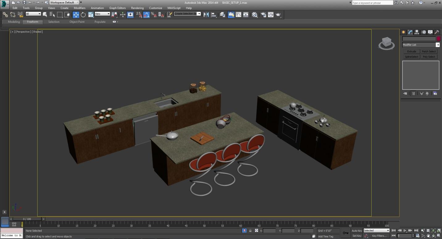 Charmant 3d Küche Modellierungs Software Kostenlos Bilder - Ideen ...