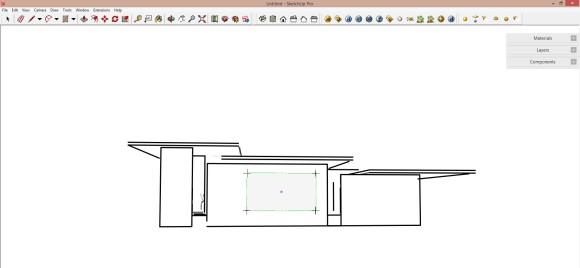 07. Schnittebene in Sketchup erstellen und einstellen_580