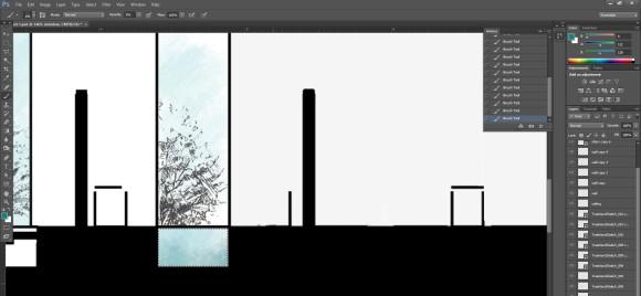 24. Glas Flaechen im Schnitt farbig in Photoshop anlegen_580