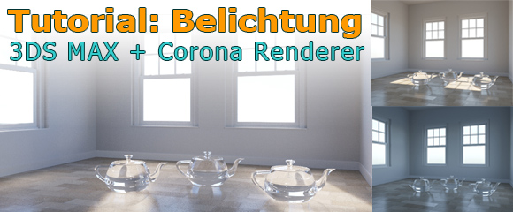 0_Tutorial exposure Interior Corona Renderer 3ds MAX