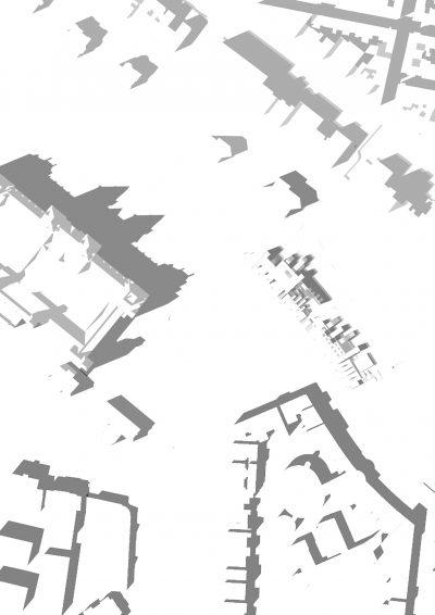Gebäude Schatten als extra Layer