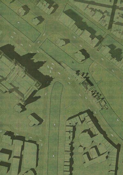 Kachelbare Gras Textur für Lageplan Landschaftsarchitektur