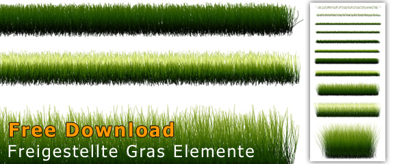 Gras freigestellt Download Photoshop Rasen