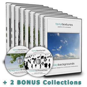 Textursammlung Architektur CD
